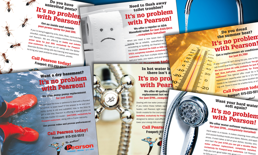 Print and Radio Ads